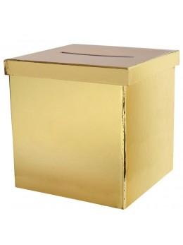 urne métallisé or