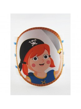déco serviette pirate