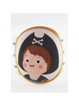 déco de serviette pirate