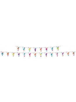 Guirlande fanions Joyeux anniversaire 4m50