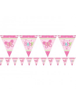 guirlande baby shower fille