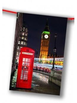 guirlande Londres cabine