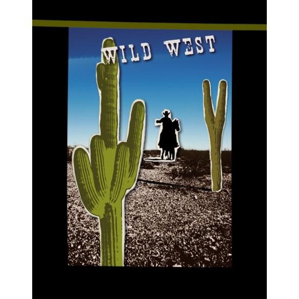 Guirlande 18 pavillons wild west