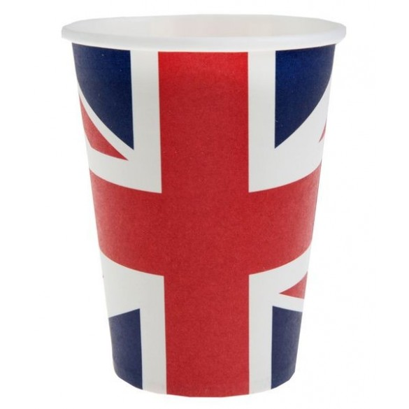 10 Gobelets Angleterre