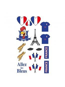 Tatouage supporter France