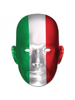 Masque carton supporter Italie