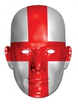 Masque carton supporter Angleterre