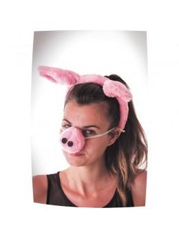 serre tete et nez de cochon