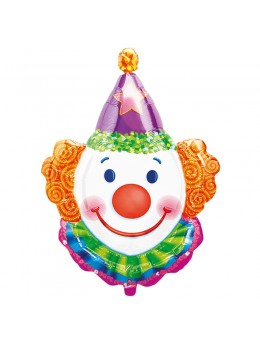 ballon tête de clown