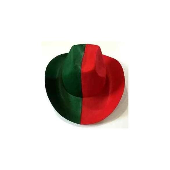 belle couleur bons plans sur la mode Style magnifique Chapeau cowboy rouge et vert