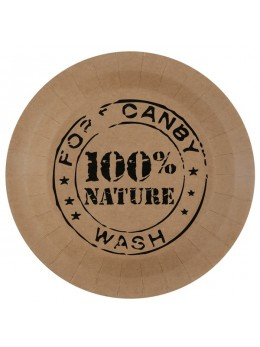 10 assiettes 100% Nature