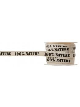 Ruban 100% Nature