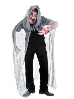 Cape de zombie grise 190cm