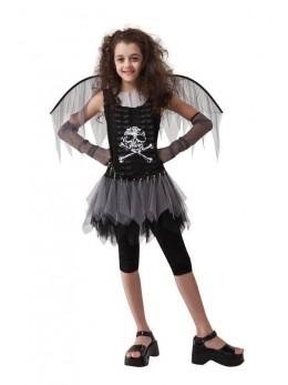 Déguisement fille rock zombie