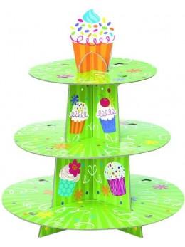 présentoir à cupcake