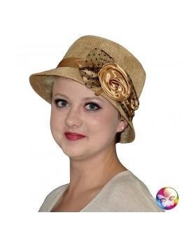 chapeau charleston années 20