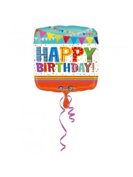 ballon alu joyeux anniversaire