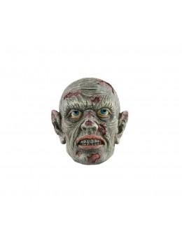 déco tête de zombie