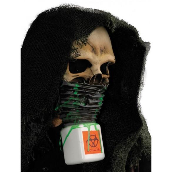 masque zombie radioactif
