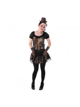 déguisement pour ado de squelette fille