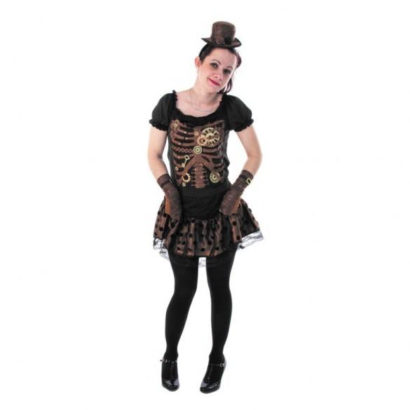 déguisement de squelette steampunk ado | fête en folie