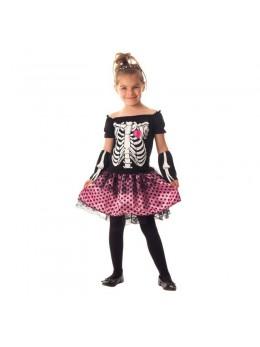 déguisement mini squelette fille