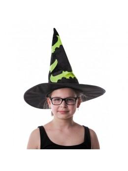 chapeau de sorcière enfant fluo