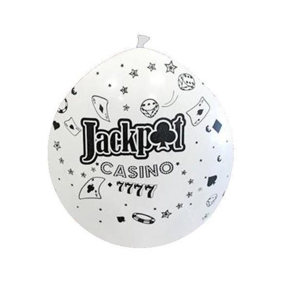 ballon géant thème casino