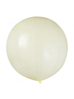ballon géant ivoire