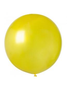 ballon géant jaune