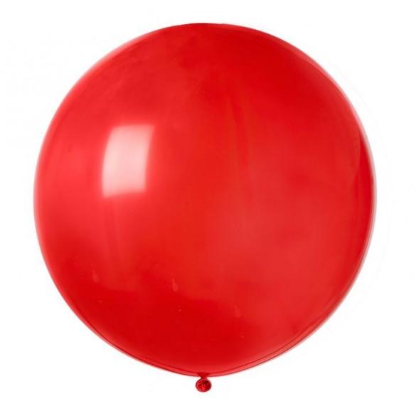 Ballon géant rouge