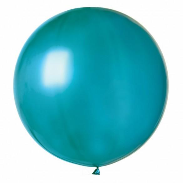 Ballon géant bleu lagon
