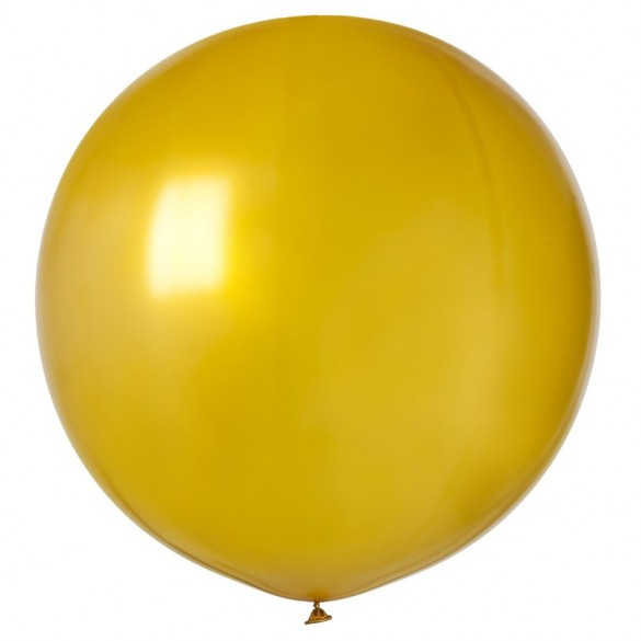 Ballon géant or