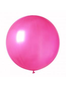 ballon géant fuchsia