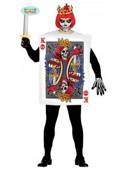 déguisement roi de coeur zombie