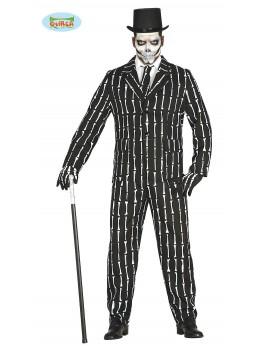 déguisement costume squelette