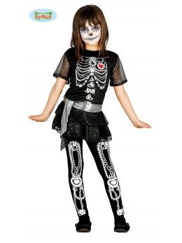 déguisement squelette paillettes
