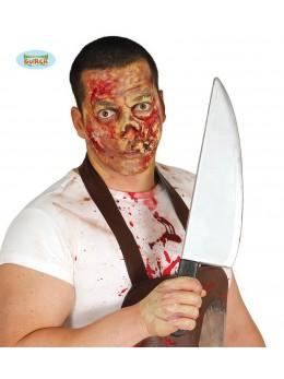 grand couteau de boucher