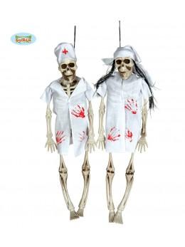 squelette docteur d'Halloween