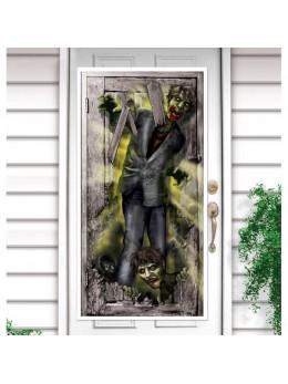 poster déco zombie