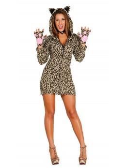 déguisement femme léopard
