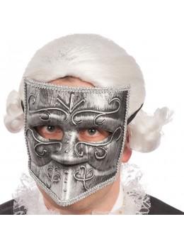 Masque vénitien  argent
