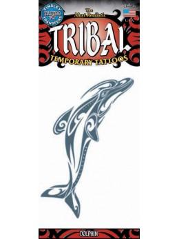 tatouage temporaire dauphin