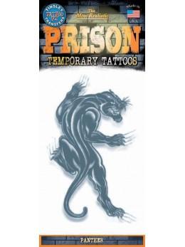 tatouage temporaire panthère noire