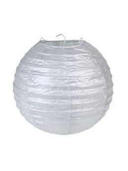 Lanterne métallisée or 20 cm