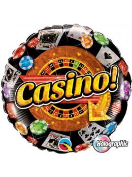 Ballon alu casino hologramme