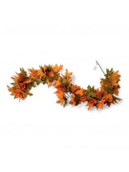 Guirlande de feuilles d'automne 1m80