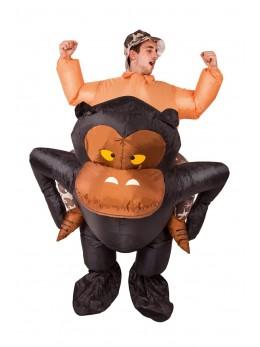 déguisement gorille gonflable