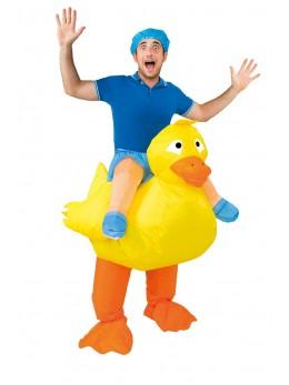 déguisement canard gonflable