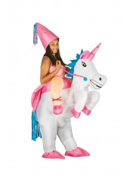 déguisement licorne gonflable